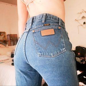 WRANGLER VINTAGE High Waist Jeans
